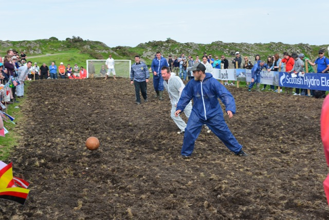 Ardbeg Swamp Football Game